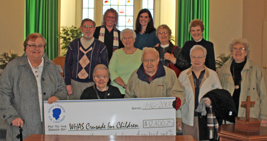 Jeffersontown Presbyterian Church donation 11613