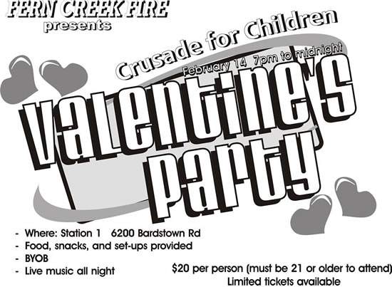 valentine fcfd party